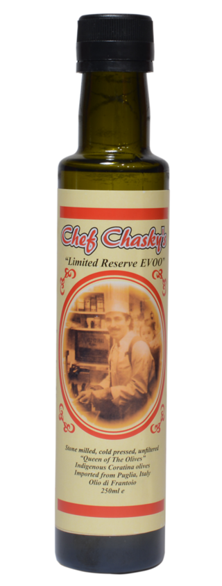 Limited Reerve EVOO Chef Craig Chasky Gourmet Product