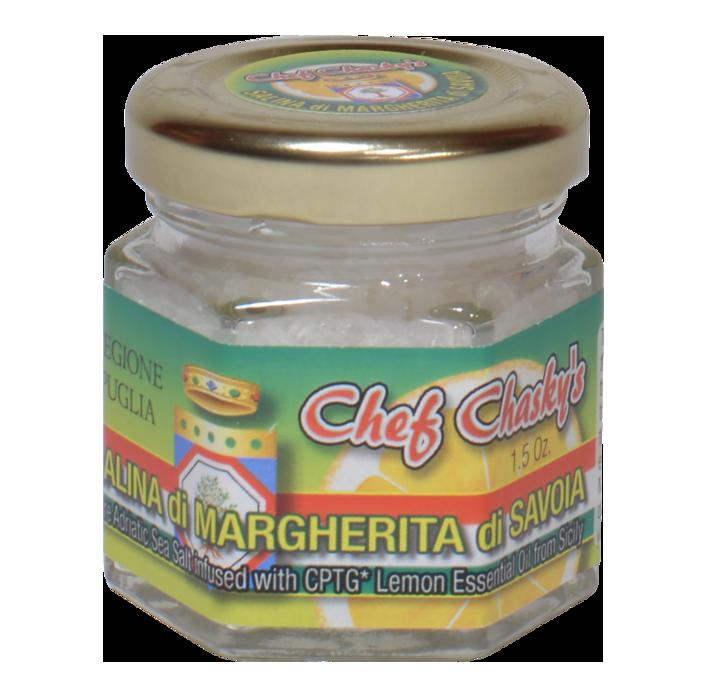 Salina di Margherita di Savola Infused Adriatic Sea Salt Chef Craig Chasky Gourmet Product