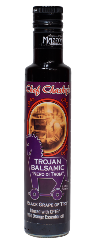 Trojan Balsamic Chef Craig Chasky Gourmet Product
